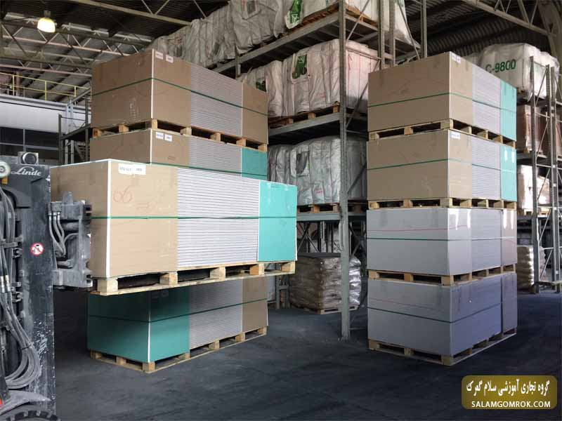 صادرات پانل گچ - صادرات پانل گچ